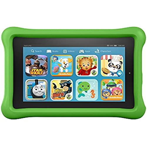 Fire Kids Edition Tablet, 7 Display, Wi-Fi, 16 GB, Green Kid-Proof Case Coupons