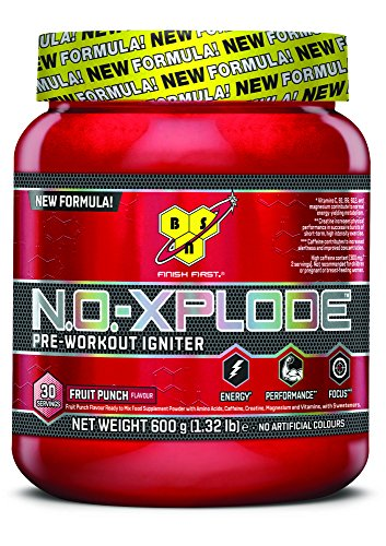 BSN N.O.-XPLODE 3.0 Fruit Punch 600G