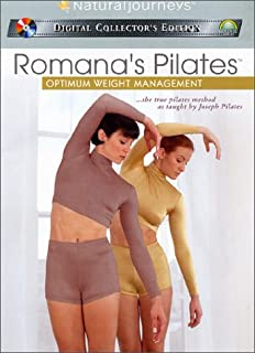 Amazon com: Romana's Pilates - Ultimate Challenge Mat Workout