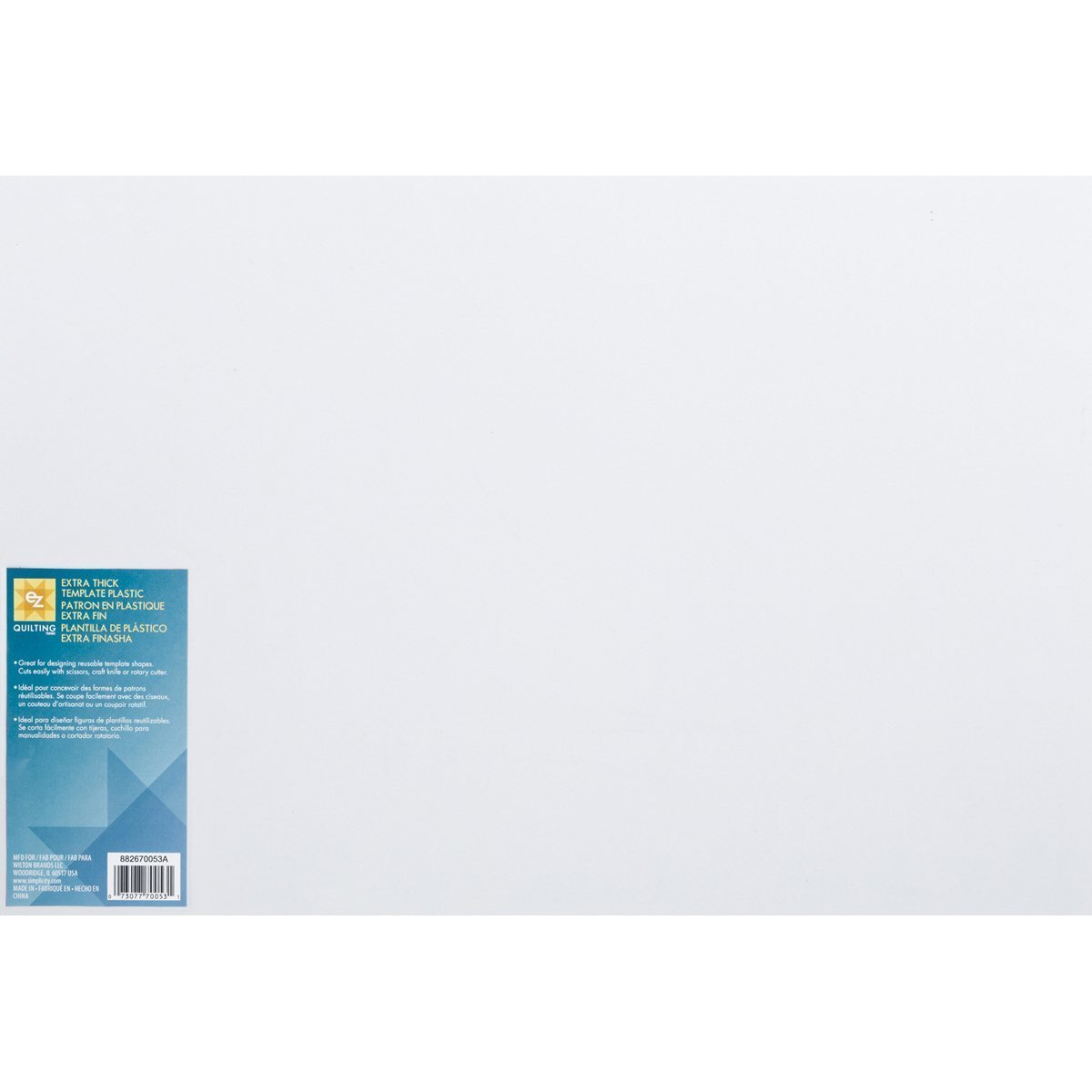 Amazon.com: 3xWrights 670053 Extra Thick Plastic Quilt ...