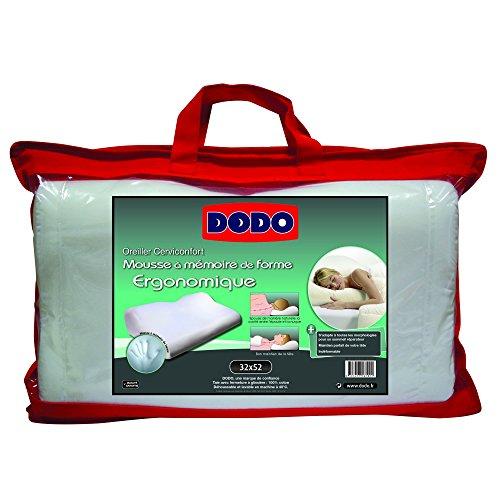 oreiller cerviconfort dodo Dodo 70610 Oreiller Ergonomique 32 cm x 52 cm Ergonomique: Amazon  oreiller cerviconfort dodo