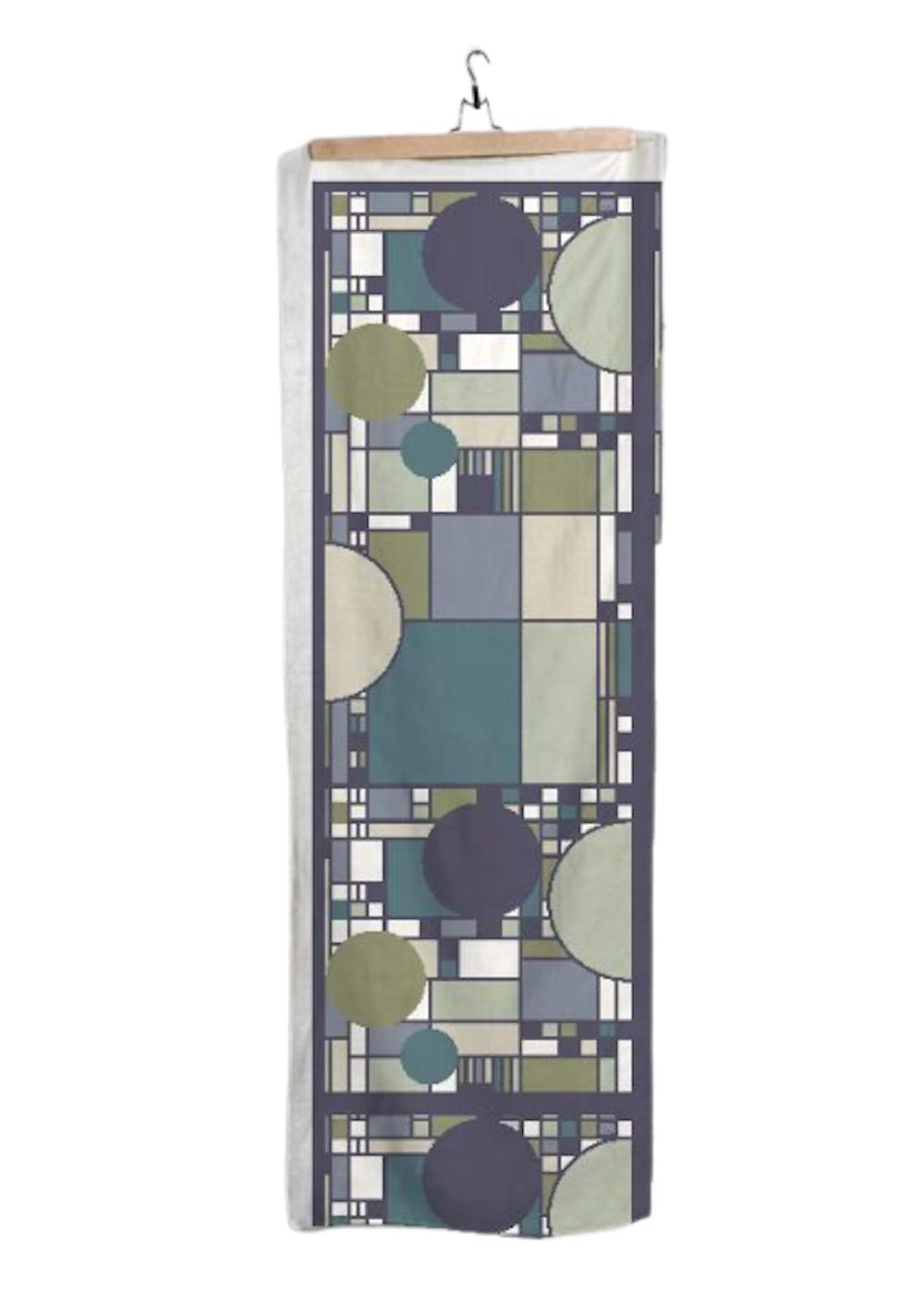 VIDA | Coonley Forest Scarf | Original Artwork Designed by Frank Lloyd Wright