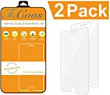 iPhone 6 6s Screen Protector, [2-Pack] TheCoos iPhone 6s 6 Tempered Glass Screen