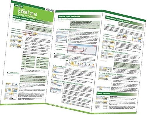 Excel 2010 - Formeln und Funktionen Taschenbuch – 30. Juli 2013 Inge Baumeister Christian Bildner BILDNER Verlag GmbH 3832800727