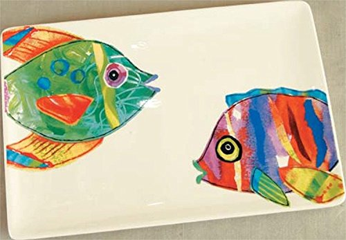 - Lori Siebert Tropical Fish Outta Water Platter