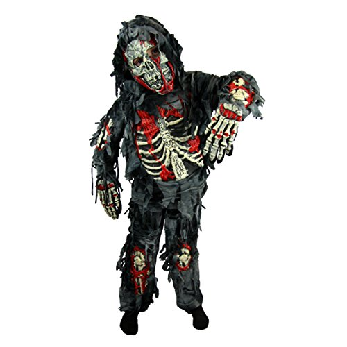 Spooktacular Creations Deluxe Zombie Children Costume Se (M(8-10))