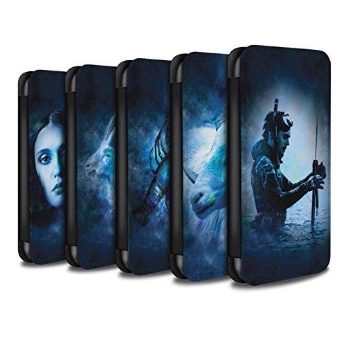 Stuff4 Coque/Etui/Housse Cuir PU Case/Cover pour Apple iPhone 6S+/Plus / Pack 12pcs Design / Zodiaque Étoile Signe Collection