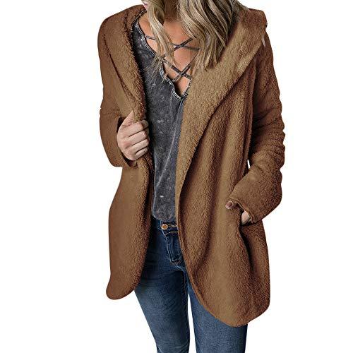Hoodie Plus Size Coat Winter Coat Vintage Sweatshirt Beige,Green,Coffee,Gray Jacket ()