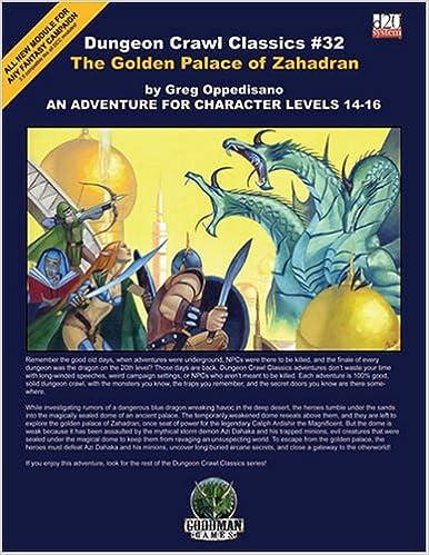 Book Dungeon Crawl Classics #32: The Golden Palace of Zahadran