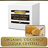 Organic Coconut Sugar Crystals BULK 5 LBS - WHOLESALE - Organic Kosher - LOW GLYCEMIC Sugar Replacement Sweetener