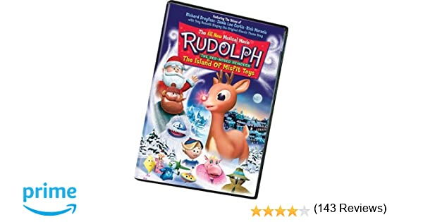 Amazon.com: Rudolph the Red-Nosed Reindeer & the Island of Misfit ...