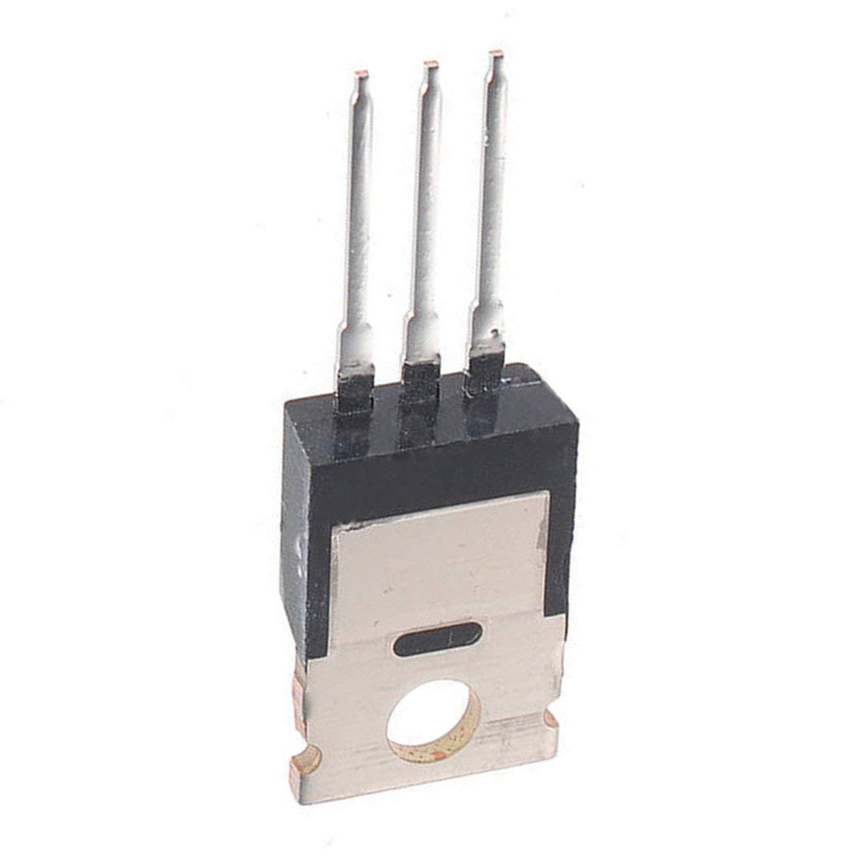noir 10pcs 55V 49A IRFZ44N IRFZ44 Transistor de puissance MOSFET N-Channel de haute qualit/é Togames-FR