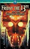 Friday the 13th 8: Jason Takes Manhattan [Reino Unido] [DVD]