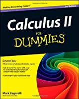 Calculus II For Dummies, 2nd Edition Front Cover