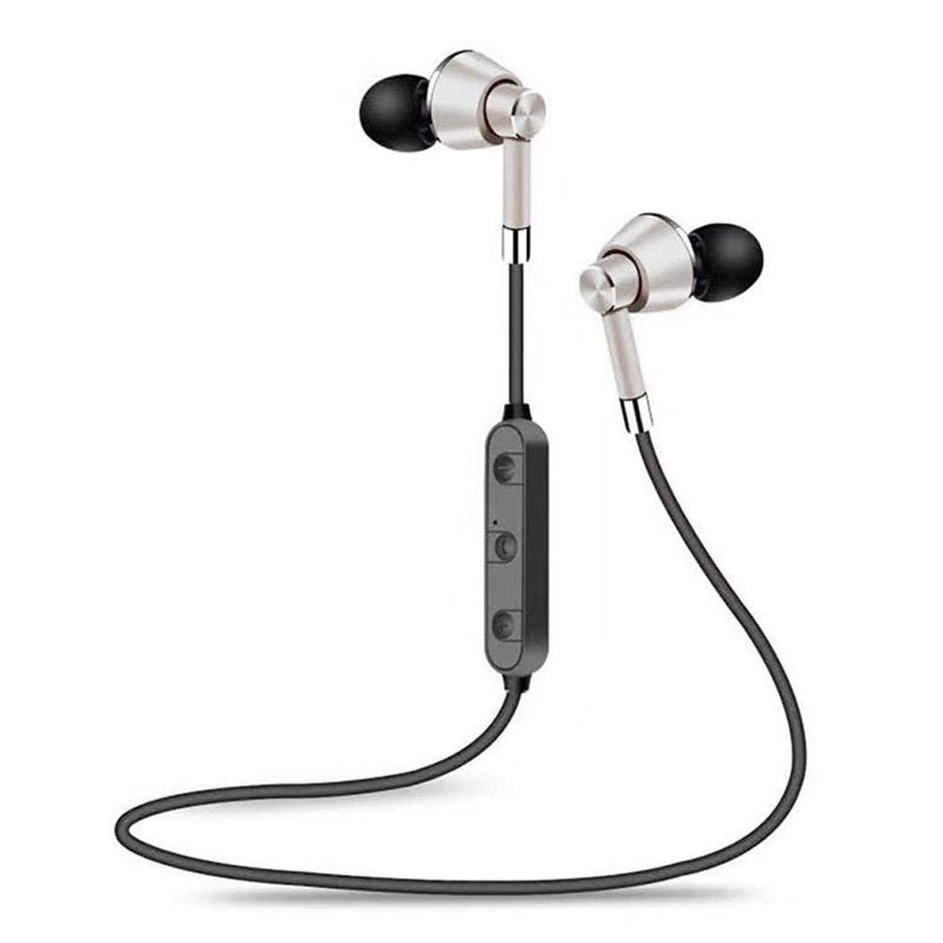 Halffle Bluetooth Headphones Wireless Earbuds, Wireless Magnetic Absorption Bluetooth Stereo in-Ear Sporting Earphon Bluetooth Headsets