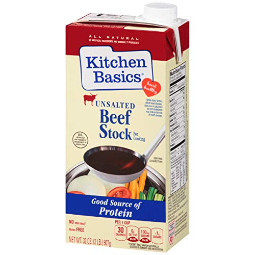 Kitchen Basics All Natural Unsalted Beef Stock, 32 fl oz by Kitchen Basics (Image #13)