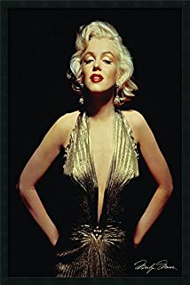 Framed Wall Art Print Marilyn Monroe (Gold) 25.25 x 37.25 (B0040C5B5I) | Amazon price tracker / tracking, Amazon price history charts, Amazon price watches, Amazon price drop alerts