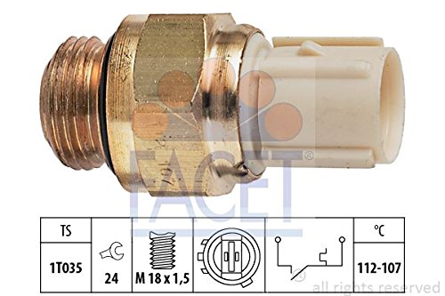 Facet 7.5179 Temperature Switch, radiator fan: