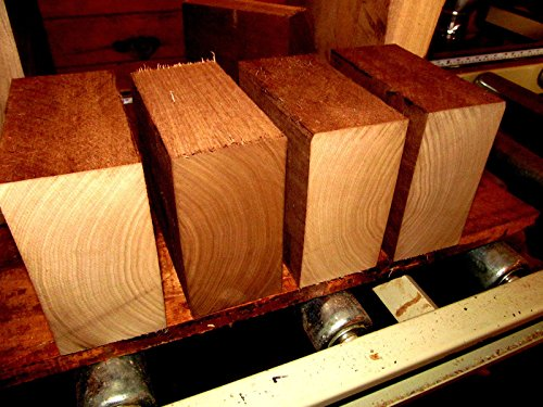 Beautiful Walnut (4 Beautiful Walnut Kiln Dried Bowl Blanks Turning Block Wood Shop Small Projects Ready to Finish Turn Approximately 6