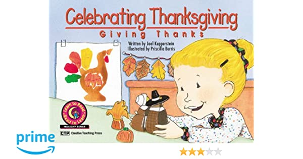 Celebrating Thanksgiving: Giving Thanks Learn to Read Holiday ...
