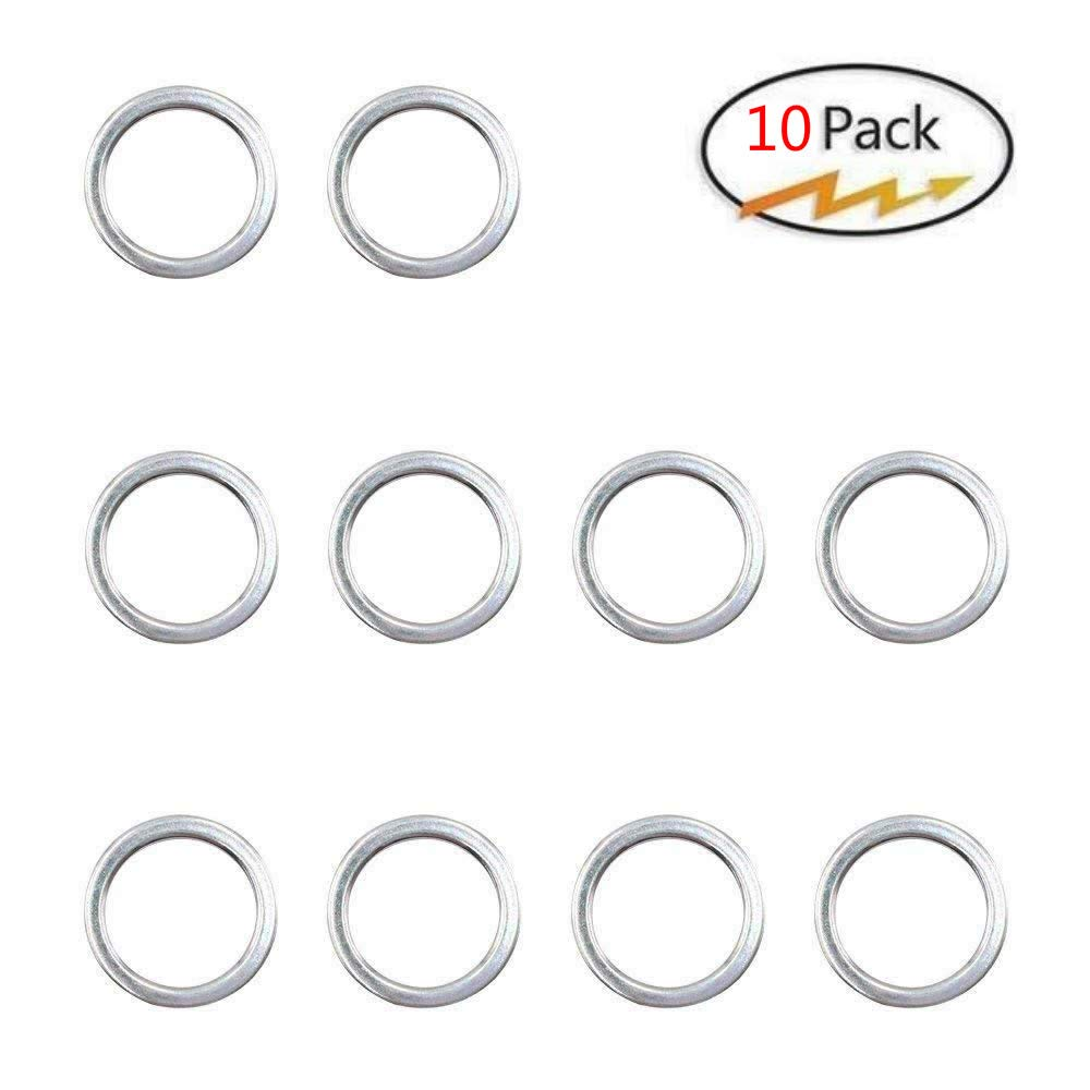 NEW GENUINE OEM TOYOTA OIL DRAIN PLUG GASKET SET 10 X 12157-10010