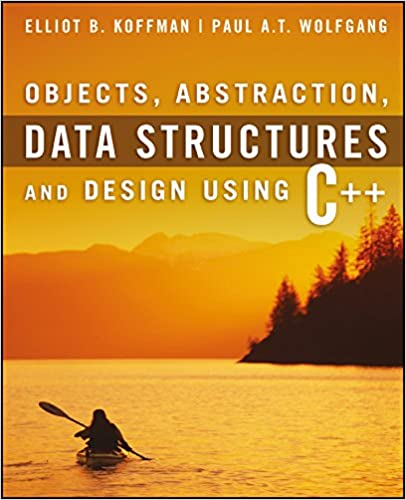 DATA STRUCTURES AND DESIGN USING C++