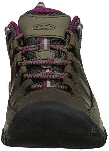 Keen Low Boysenberry 0 Hiking Rise Weiss III Wp Brown Women's Targhee Shoes rTqxIg1r