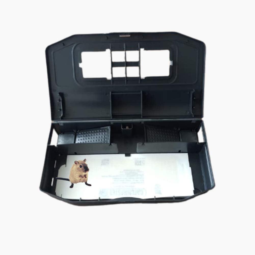 Dudexa Trampa para Ratones Vivos Multicaptura con Superficie Adhesiva – Solución Anti-Ratones Simple y Eficaz –
