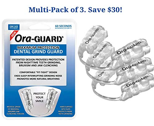 Dental Grind Guard for Bruxism - Ora-GUARD (Three Pack) by Ora-GUARD