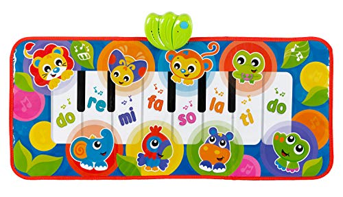 Playgro Baby Toy Jumbo Jungle Musical Piano Mat 0186995 for Baby Infant Toddler Children is Encouraging Imagination with STEM/STEAM for a Bright Future - Great Start for A World of Learning