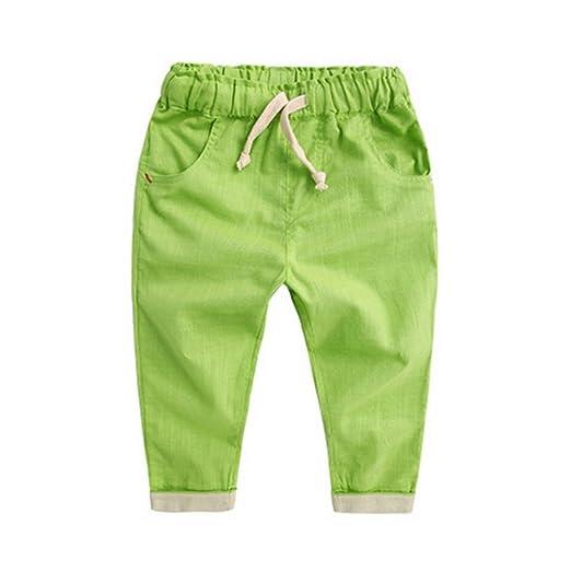 66c5f97dac3b EFINNY Kids Boys Cotton Harem Summer Sweat Pants Casual Trousers Bottoms  2-3Y