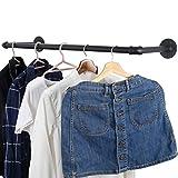 WEBI Clothing Rack Wall Mount,24'' Industrial
