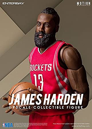 NBA Collection James Harden Motion Masterpiece 1/9 Scale Action Figure by NBA