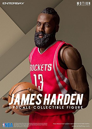 519d2a6ffb32bd Amazon.com  NBA Collection James Harden Motion Masterpiece 1 9 Scale ...
