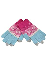 Korean Version Autumn And Winter Warm Gloves Touch Screen Wool,1