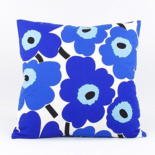 marimekko-popping-poppies-floral-decorative-handmade-pillow-cover-20x20-reversible-blue-chloe-olive