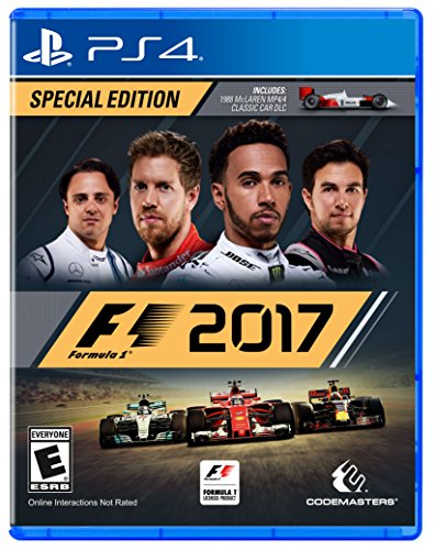 Single Gearbox (F1 2017 Special Edition - PlayStation 4)