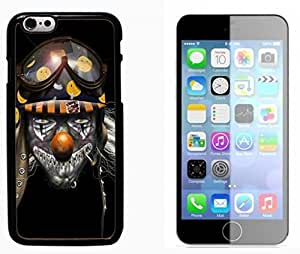 Clown Evil Joker Pattern Hard Plastic and Aluminum Back Case FOR Apple iPhone 6 6G 4.7