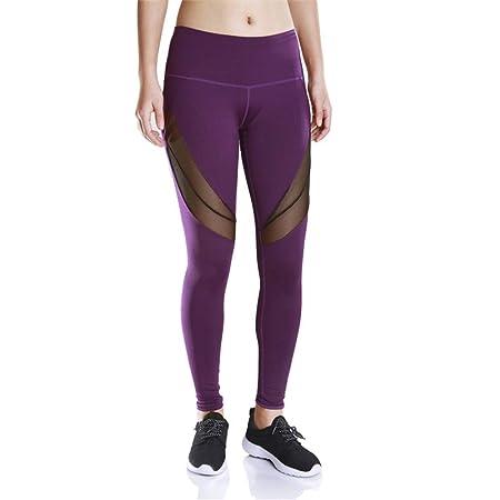 ChenBing-tow Pantalones de Yoga para Mujeres Mujeres Yoga ...