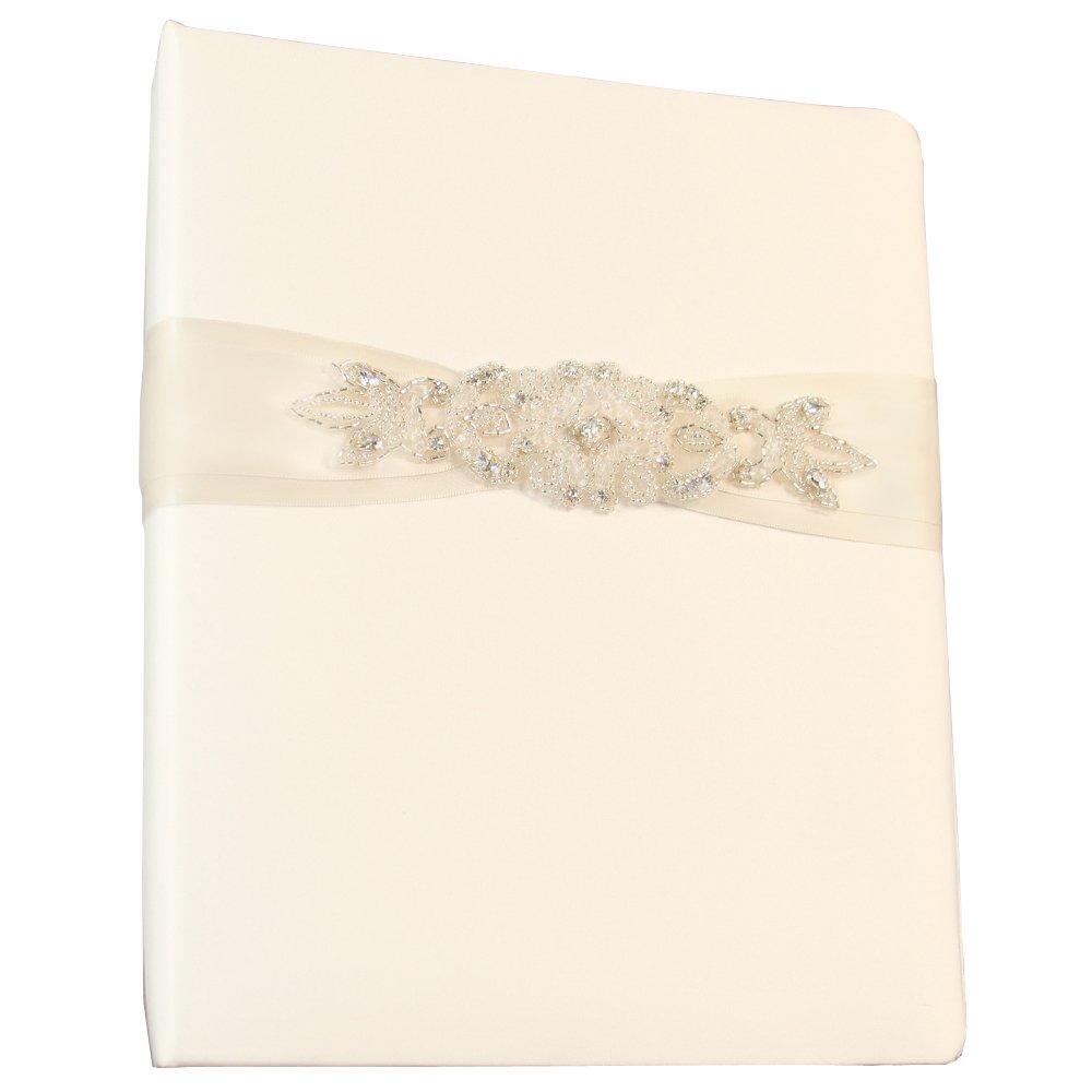 Ivy Lane Design Wedding Accessories Memory Book, Adriana, Ivory by Ivy Lane Design