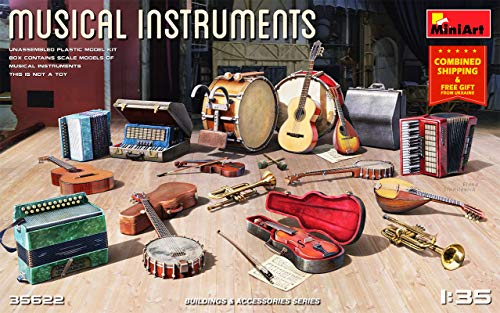 MiniArt 35622 - 1/35 - Musical Instruments 1