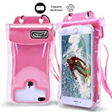 Waterproof Case,Floating SEGMART IPX8 Waterproof Phone Pouch Underwater Dry Bag for iPhone X/8/8P/7/7P/6P/6S; Galaxy S9/S9P/S8/Note 8; Google Pixel/Pixel Plus (pink)