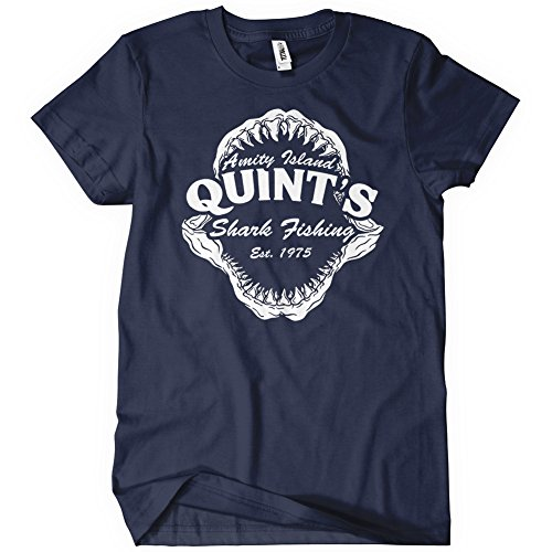 Quint's Shark Fishing Amity Island T-Shirt
