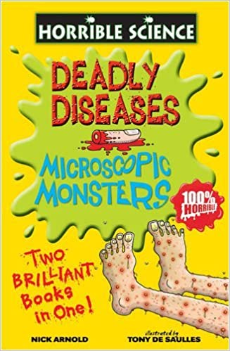 Book Deadly Diseases and Microscopic Monsters (Horrible Science) by Nick Arnold (6-Apr-2009)