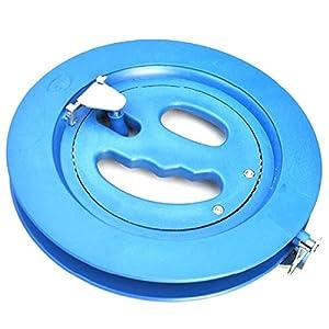 Foxnovo Poche de 18cm dur Kite verrouillable en plastique ligne moulinet Winder (bleu)