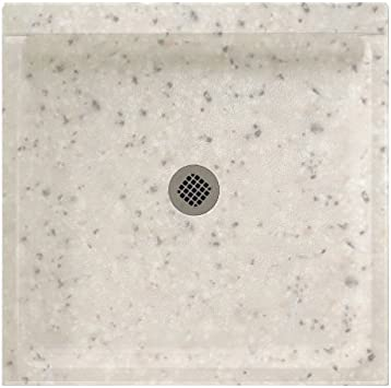 Swanstone Ss 3636 040 Solid Surface Center Drain Shower Base 36