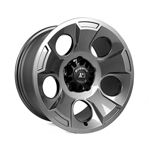 Rugged Ridge 15302.30 Drakon Gun Metal Wheel (17