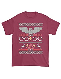 Expression Tees Hogwarts Ugly Christmas Holiday Mens T-shirt