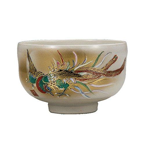 Japanese Matcha Bowl Phoenix Kutani Yaki(ware)