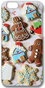 New Year Gingerbread Cookies Snowflakes iPhone 6 Case, 3D Handmade Skin Case Cover for iPhone 6 4.7 inch Screen
